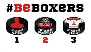 #BeBoxers, affichez-vous sur le maillot des Boxers !