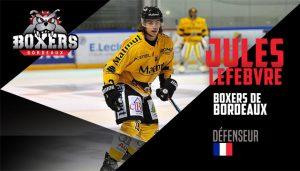 Jules Lefebvre et son potentiel s'exportent à Bordeaux !