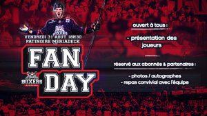 Fan Day à Mériadeck le Vendredi 31 Août
