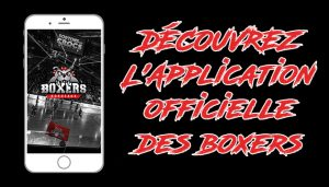 L'application 100% Boxers de Bordeaux