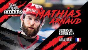 Mathias Arnaud complète l'offensive