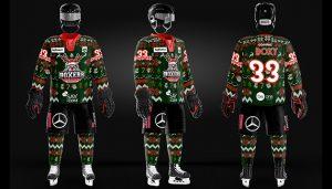 Découvrez le maillot de Noël des Boxers !