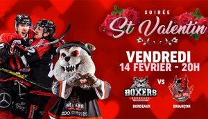 Venez célébrer la St Valentin à Mériadeck le 14 Février !
