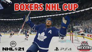 Lancement de la Boxers NHL Cup !